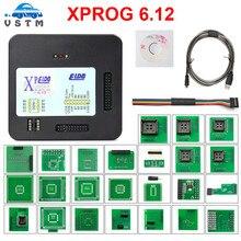 XPROG V6.12 Add New Authorization xprog programmer Metal Box XPROG-M ECU Programmer Tool X Prog M V6.12 Full Adapters