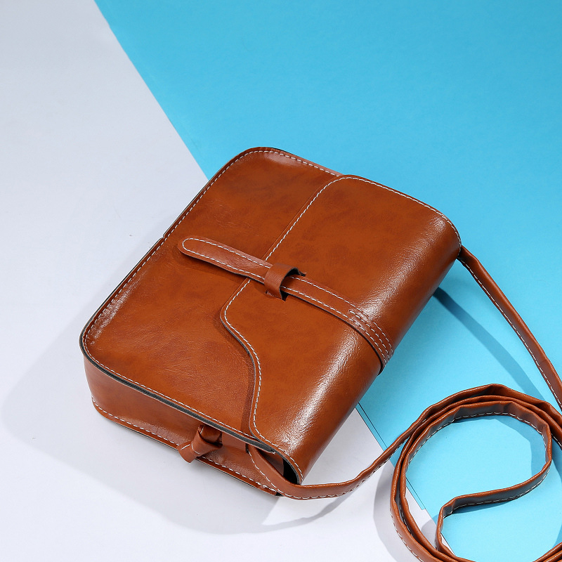 Mini Small Square Shoulder Bag Women Candy Color PU Leather Crossbody Bag For Girl Fashion Casual Handbags Ladies Phone Purse