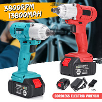 New 108VF 13800mAh 320NM Brushless Household Electric Wrench Impact Driver Power Tool Rechargeable Cordless Impact DIY Drill