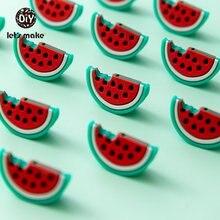 Детское Зубное кольцо от компании let's make; из арбуза