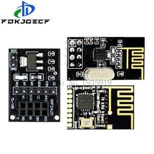 NRF24L01 + модуль беспровоР´Ð½Ð¾Ð¹  передачи данных 2, 4G/NRF24L01 обновленР½Ð°Ñ  версия 2 Мбит/с NRF24L01 плата адаптера гнезда