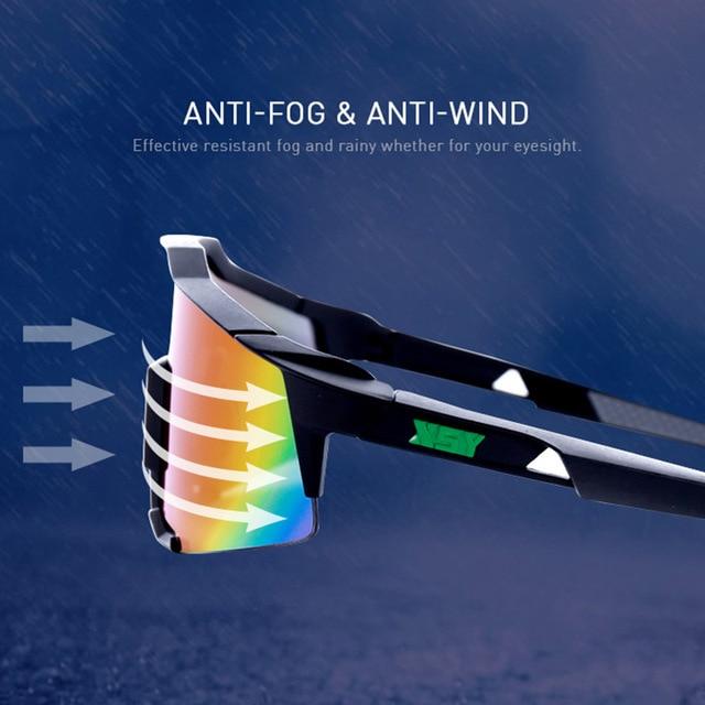 Roidismtor ciclismo eyewear bicicleta óculos de sol dos esportes dos homens mtb ciclismo estrada óculos de proteção à prova vento 4