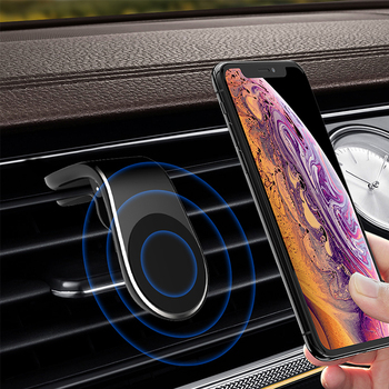 Car Magnet GPS Cell Phone Stand Holder 360 Rotation for BMW e90 e60 e46 f10 VW Golf 7 Peugeot 206 2020 Accessories Deooration image