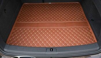 Custom Special Car Trunk Mats for Hyundai IX25 IX35 Elantra Sonata Tucson Veloster Waterproof Durable Cargo  Carpets Santafe