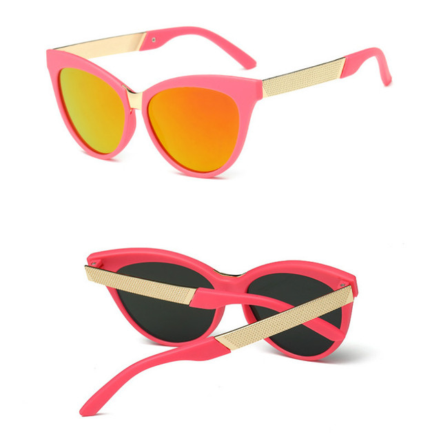 Очки солнцезащитные унисекс полуметаллические для мальчиков