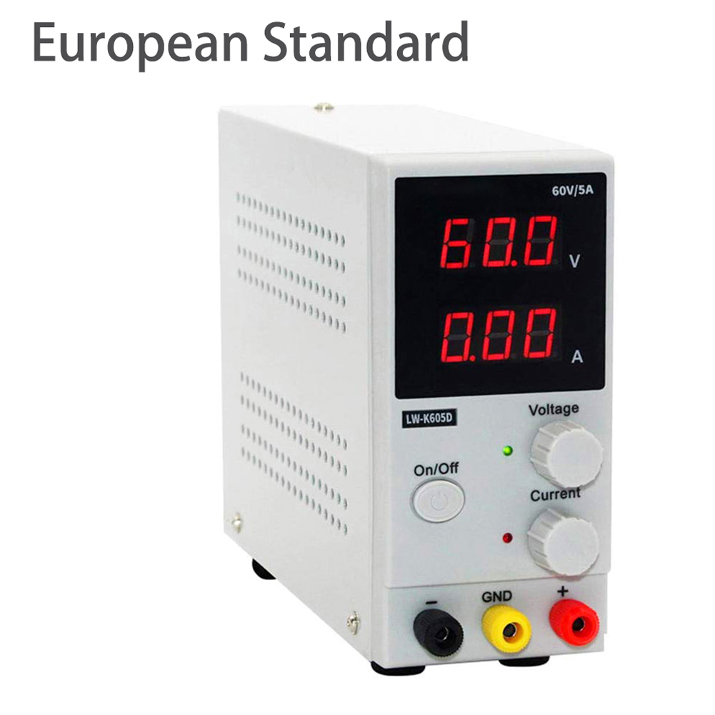60V 5A MIni LED Digital Switching DC Power Supply Voltage Regulators Lab Repair Tool Adjustable LW-K605D 110/220V Power Source