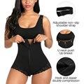 Women Body Shapewear Tummy Control Fajas Colombianas Shaper Zipper Bodysuit Full Body Shaper slimming Belly sheath Butt Lifter
