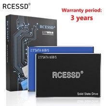 Unidade de estado sólido rcessd, ssd hdd 2.5 sata3 ssd 120gb sata iii 240gb ssd interno 480gb 960gb 7mm para computador desktop, laptop pc