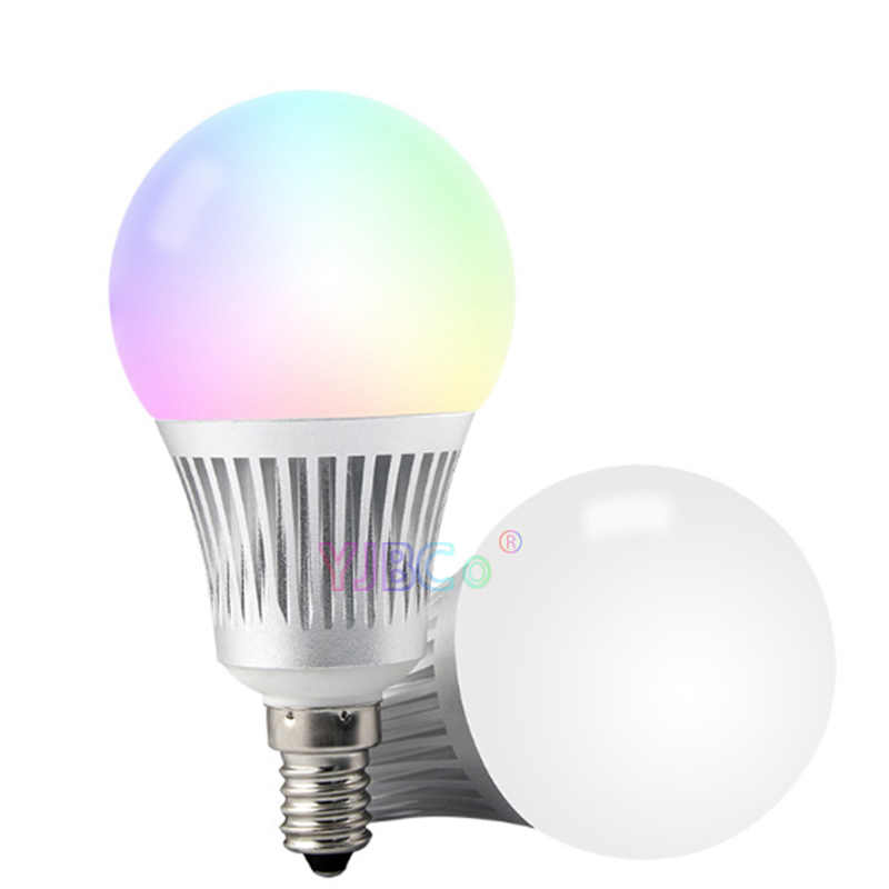 Groothandel Miboxer FUT013 5W E14 Rgb + Cct Led Licht Blub 2.4G Wifi Afstandsbediening Dimbare Led Lamp AC100 ~ 240V