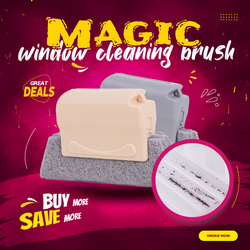 Magic window cleaning brush-Quickly clean all corners and gaps Magic Cleaning Brush Replacement Cloth