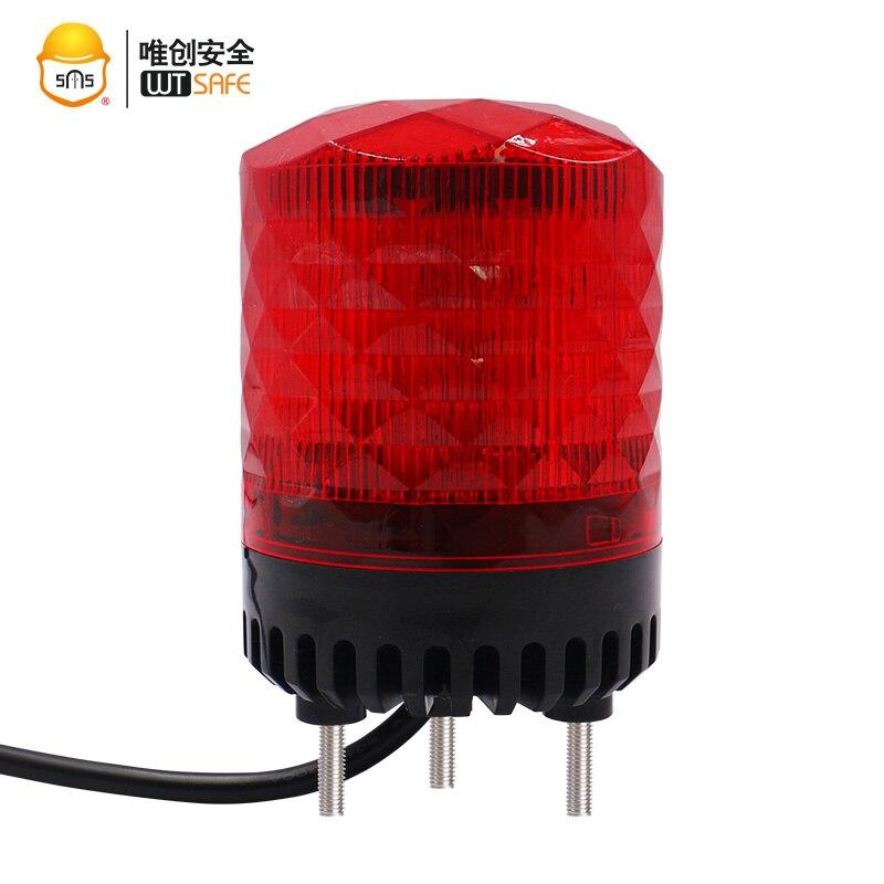 Звуковой сигнал светодиодный проблесковый маячок мигающая световая сигнализация аварийное освещение предупреждающий свет лампы автомоби...