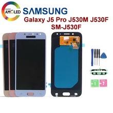 Super AMOLED do Samsung Galaxy J5 2017 J5 Pro wyświetlacz LCD J530 J530F J530M SM-J530F wyświetlacz LCD ekran dotykowy Digitizer części tanie tanio Ekran pojemnościowy 1280x720 3 Galaxy J5 2017 J5 Pro LCD Display J530 J530F J530M SM-J530F LCD i ekran dotykowy Digitizer