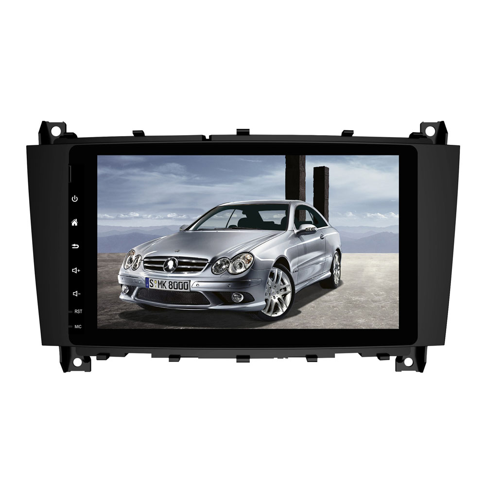 PX6/PX5PX30 Octa Core Android 9.0 Fit Mercedes Benz C Class W203 c200 C230 C240 C320 C350 <font><b>CLK</b></font> <font><b>W209</b></font> Car DVD Player GPS <font><b>Radio</b></font> image