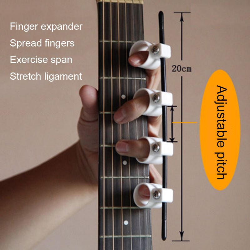 Finger Extensor Exerciser Plastic Spacing Adjustable Finger Extensor Expansion Guitar Trainer For Beginner 2020