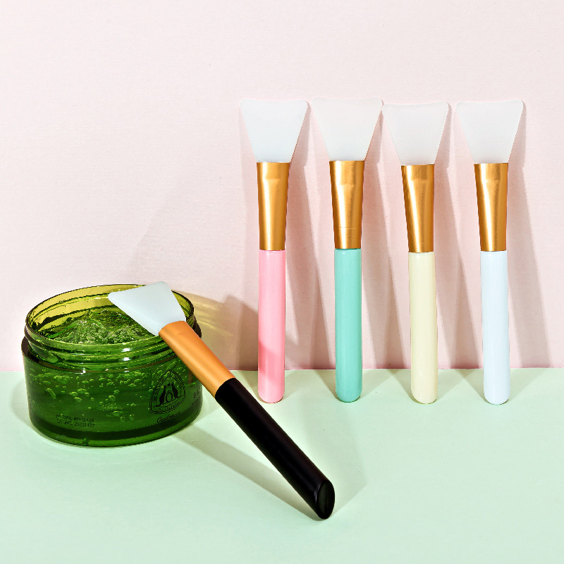 1Pcs Professional Makeup Brushes Face Mask Brush Silicone Gel DIY Cosmetic Beauty Tools Wholesale 5
