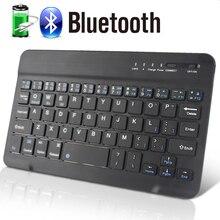 Bluetooth Keyboard Wireless Mini for PC Phone iPad Rechargeable Noiseless Keyboards Bluetooh 4.0