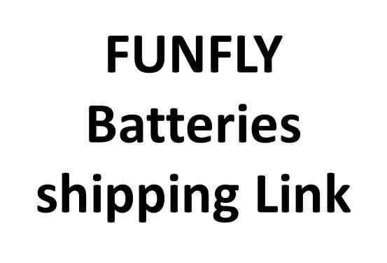 Funfly Batteries shipping Link