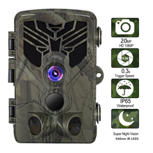 Hunting-Camera HC810A Trail Photo-Trap Forest Scout Night-Vision Infrared 940nm 1080P
