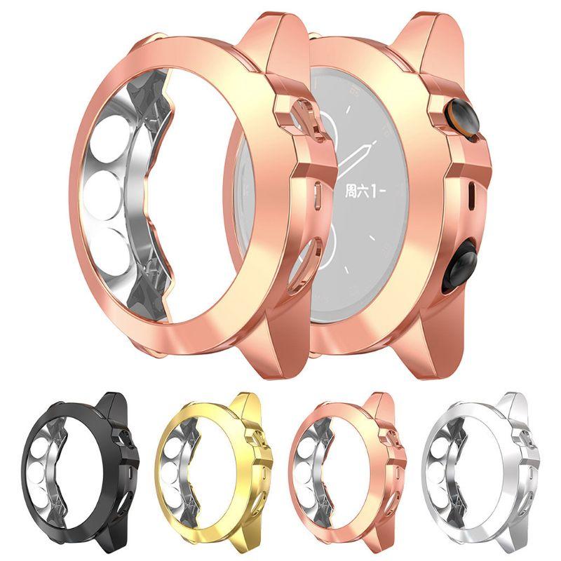 Galvanisieren TPU Weiche Fall Ultra-dünne Schutzhülle Shell für GArmin Fenix 5X/5X Plus Smart Uhr Armband zubehör