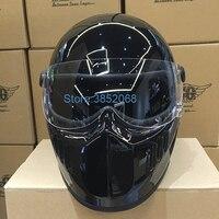 Japanese Thompson TT&CO retro Halley motorcycle electric vehicle full helmet Star Wars helmet Top Glass Steel Material Helmet
