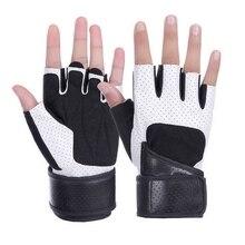 Перчатки для фитнеса с полупальцами для мужчин и женщин, Нескользящие, дышащие, одежда для тяжелой атлетики, гантели, Экипировка для мужчин, спортивные, экипировка для мужчин