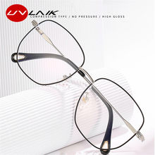 UVLAIK – monture de lunettes Vintage en métal pour femmes et hommes, rétro, Anti-lumière bleue, pour ordinateur