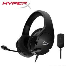 קינגסטון HyperX ענן סטינגר Core 7.1 משחקי אוזניות קל משקל מיקרופון אוזניות עבור מחשב PS4 Xbox נייד