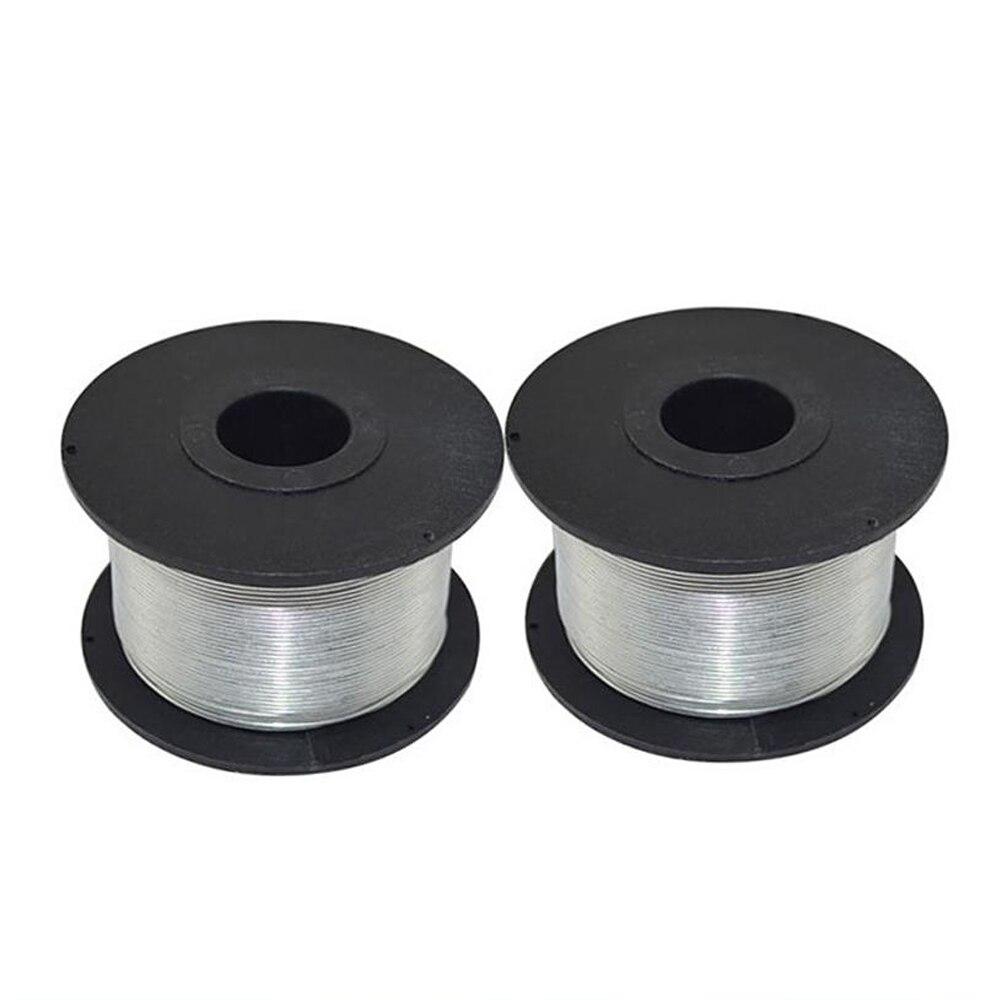 0,8 мм 110 м 4 рулона провода Железная проволока для машина для вязки арматуры Электрический арматуры