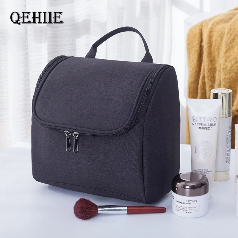 Hook Up Women Cosmetic Bags Cosmetics Organizer Travel Necessaries Waterproof Makeup Bag Multifunction Toiletry Make Up Handbag