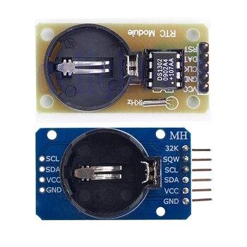 1 sztuk DS3231 AT24C32 moduł IIC DS1302 DS1307 precyzja zegar czasu rzeczywistego moduł DS3231SN moduł pamięci bez baterii