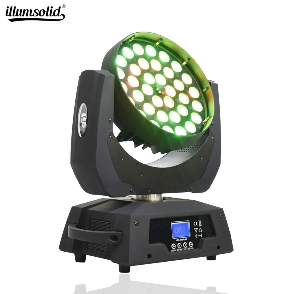 Led Dmx Stage Lighting Effect Moving Head Dj Equipment RGBW Party Lights For Show,weddings, Banquets, Night Clubs