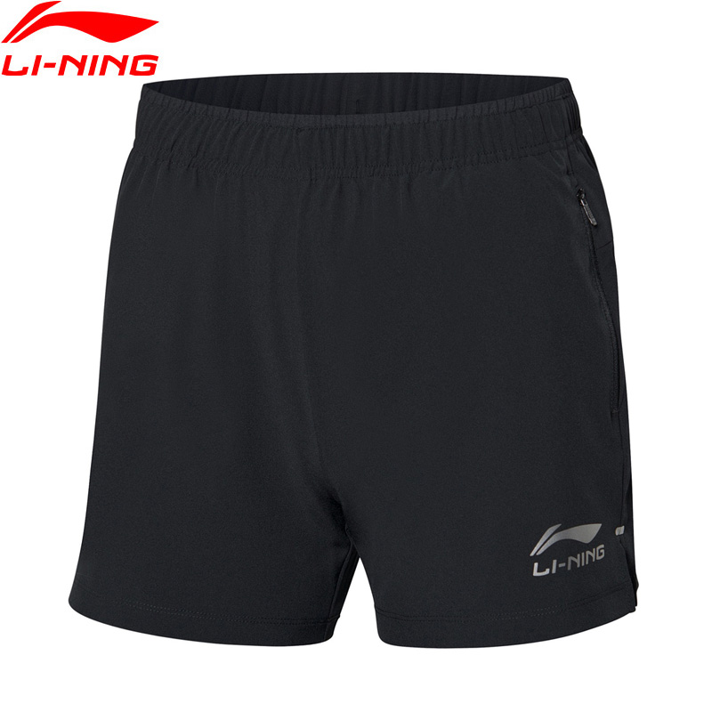 Li-Ning Women Table Tennis Competition Shorts Breathable 91.1%Polyester 8.9%Spandex LiNing Li Ning Sports Bottoms AAPP042 WKD619