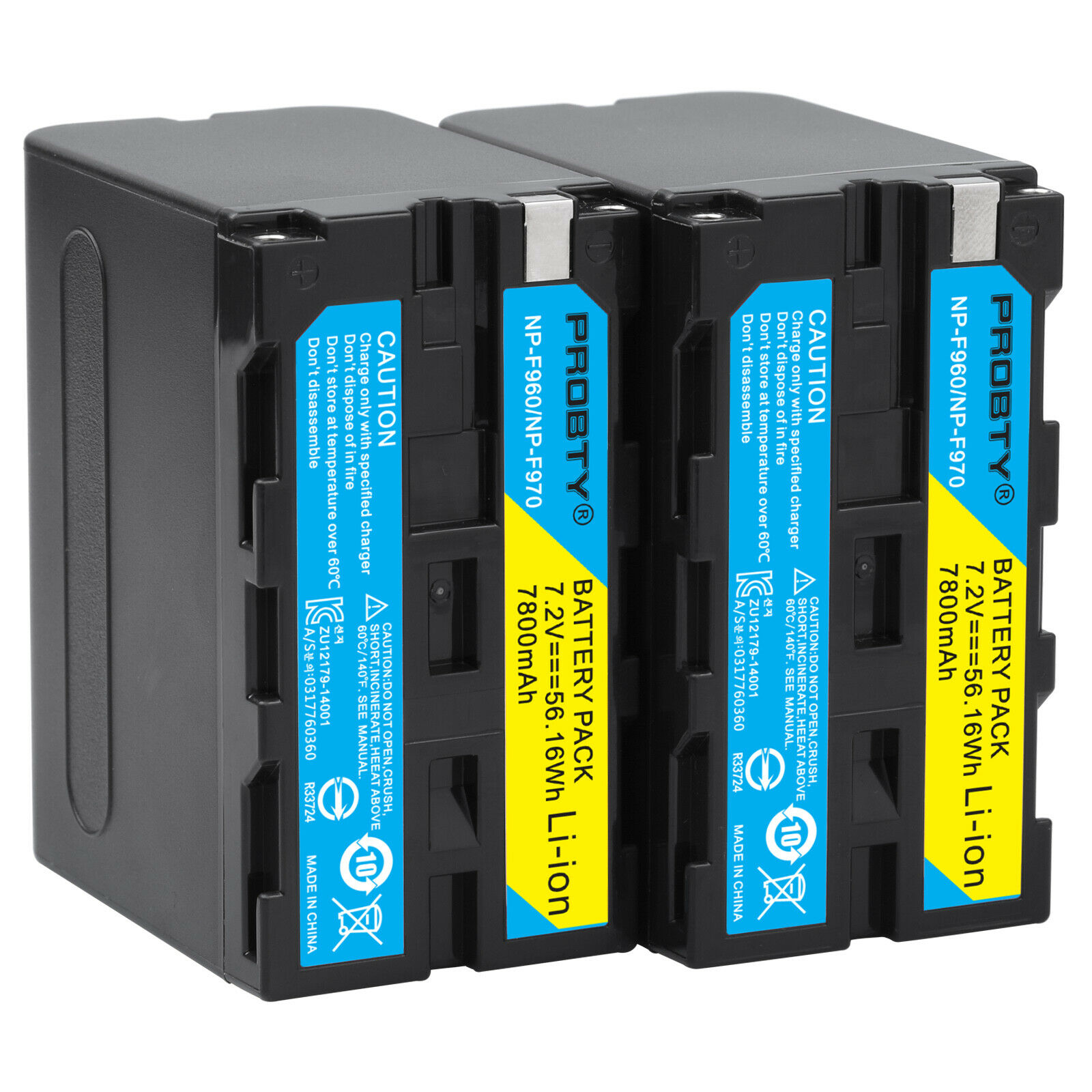 2pcs  7800mAh NP F960 NP F970 batteries / NP F960 battery For Sony NP F550 F550 NP F770 NP F750 F960 F970 free shipping-in Digital Batteries from Consumer Electronics    1