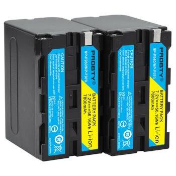 2pcs 7800mAh NP-F960 NP-F970 batteries / NP F960 battery For Sony NP-F550 F550 NP-F770 NP-F750 F960 F970 free shipping фото