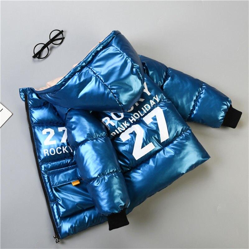Зимнее пальто для мальчиков куртка на подкладке 2020 новая детская Толстая куртка-пуховик; Детская одежда яркие уход за кожей лица стеганая к...