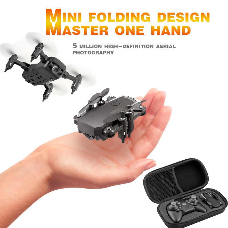 Mini Drone LF606 4K kamera HD składany Quadcopter jednoprzyciskowy powrót FPV drony helikopter RC Quadrocopter zabawki dla dzieci