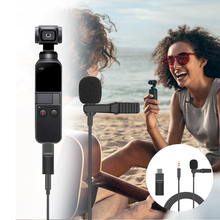 for DJI Osmo Action Osmo Pocket 3.5mm Mini Microphone Mic Audio Adapter for Osmo Pocket ACTION Extension Camera Accessories