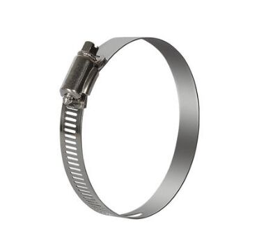 Hose Clamp For Ventilation Fan Stainless Steel Clip For Pipe Attach Connection