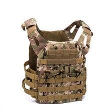 600D Охотничий Тактический жилет военный Molle Plate Carrier журнал страйкбол Пейнтбол CS открытый защитный легкий жилет