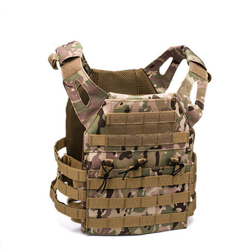 600D Hunting Tactical Vest Military Molle Plate Carrier Magazine Airsoft Paintball CS Outdoor Protective Lightweight Vest