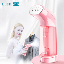 Travel Garment Steamer for Clothes Fast Heat-up 120ml Powerful Handheld Fabric Steamer for Home Travelling Steam Iron Generator new mini handheld fabric steamer 15 seconds fast heat 1500w powerful garment steamer for home travelling portable steam iron e