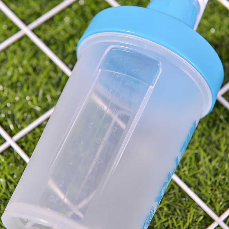 Copo eco-amigável do abanador do pó da proteína da garrafa do abanador da garrafa de água para o uso do esporte