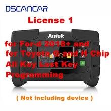Autek IKEY820 Лицензия 1 для-d+ и для Тойота G и H чип все ключ потерян ключ программирования