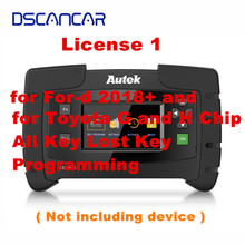 Autek IKEY820 License 1 for For d 2018+ and for Toyota G and H Chip All Key Lost Key Programming