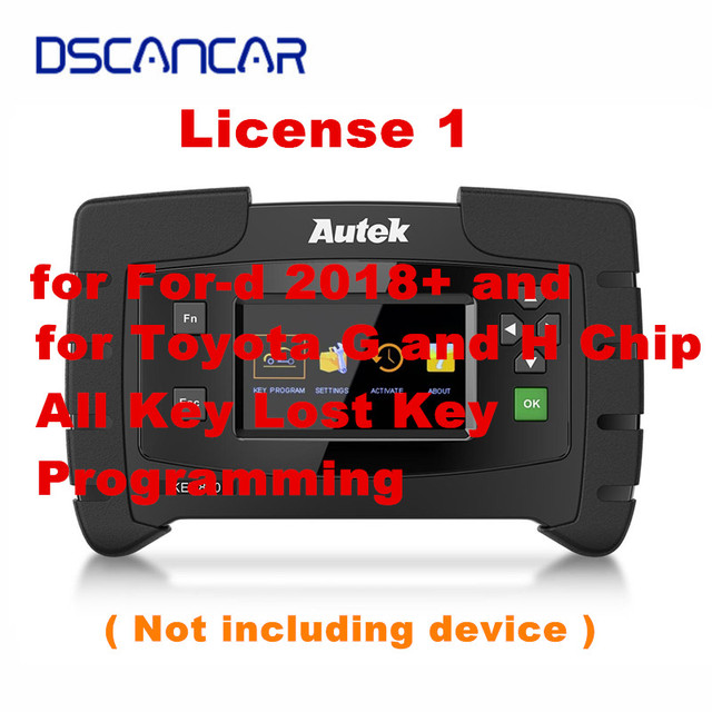 Autek IKEY820 Licentie 1 voor Voor d 2018 + en voor Toyota G en H Chip Verloor Alle Belangrijke programmeren