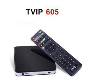 Image 4 - TVIP605Smart טלוויזיה תיבת Amlogic S905X אנדרואיד ו linux מערכת כפול Systerm 4K הטוב ביותר נורדי ממיר ו נורדי אחד חכם טלוויזיה תיבה