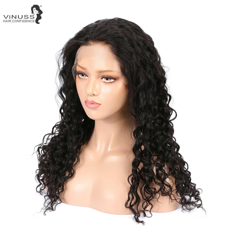 360, парики из натуральных волос на кружевной основе, глубокие кудрявые, предварительно выщипанные с детскими волосами, бразильские волосы remy, парик на шнуровке для женщин, отбеленные узлы
