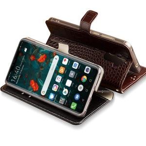 Image 3 - Flip Case For Huawei P10 P20 P30 lite Mate 10 20 lite Pro  Y6 Y7 Y9 P Smart 2019 Crocodile Grain For Honor 7X 8X 9 9X 10 20 lite