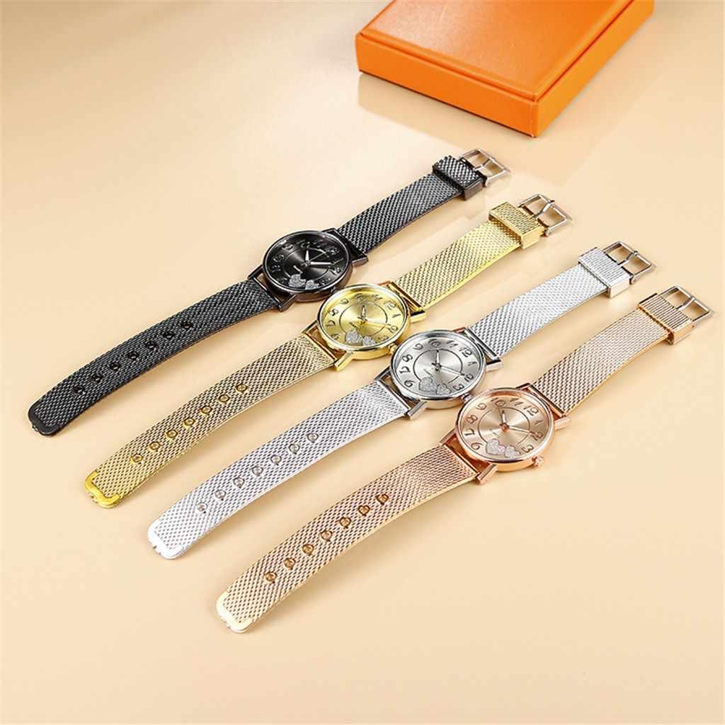 Mode Frauen Uhren Liebe Herz stern sternen himmel Uhr Mesh Gürtel Frauen Quarz Uhr Armbanduhr Einfache Weibliche Uhr reloj mujer 4