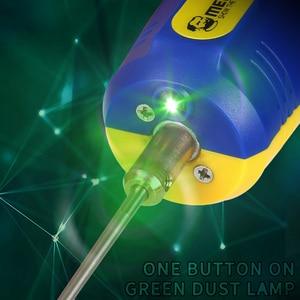 Image 5 - Mechanik IR10 PRO OCA ekran LCD do telefonu odśluzowywanie łopata klej zestaw narzędzi regulowana prędkość klej usuń Pen Grinder gumowy Separator